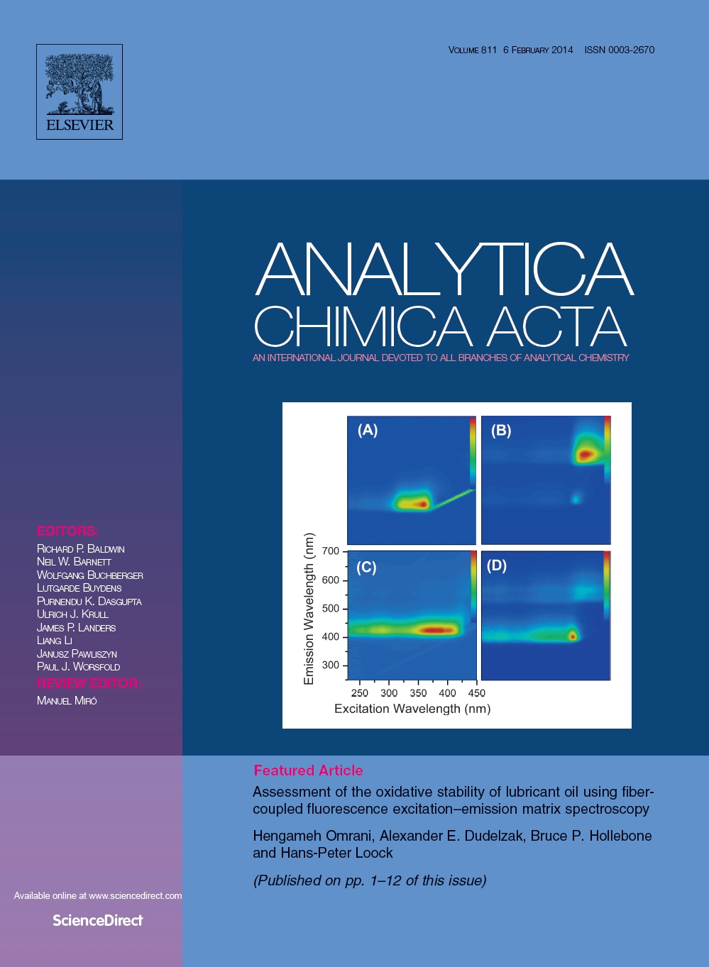 2014 - Anal Chim Acta- Fluorescence of oil - cover page - Copy.jpg