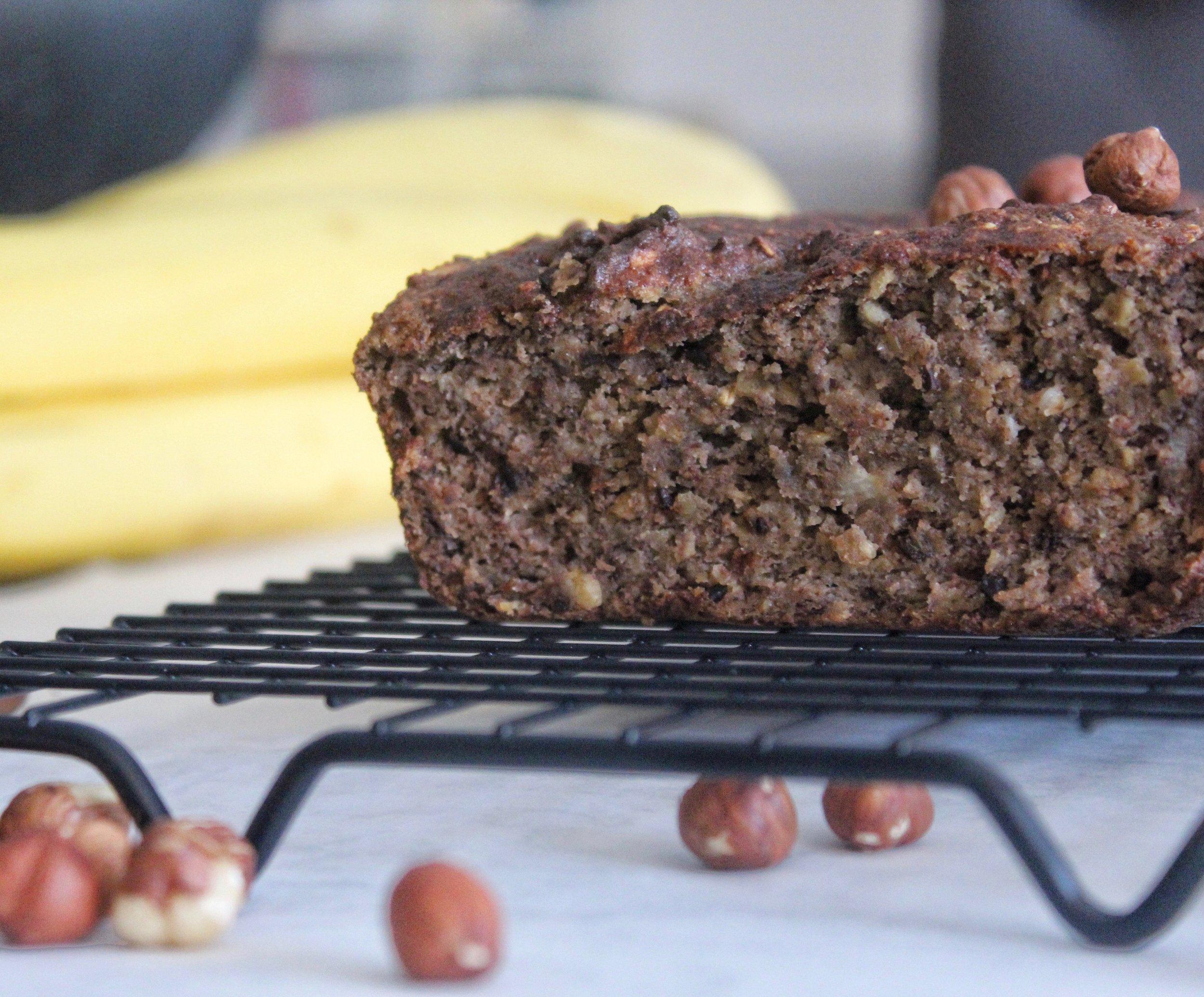 Réalisez la même recette mais avec de la farine de noisette !  Photo credit : Nutritionbyaurelia