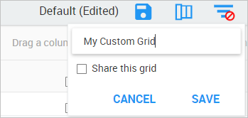 Name your grid