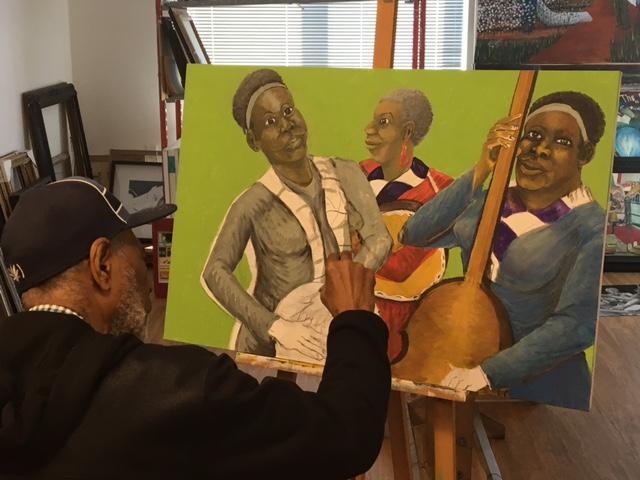 Ira Watkins, Hunters Point Shipyard Artist in Residence 2017-18