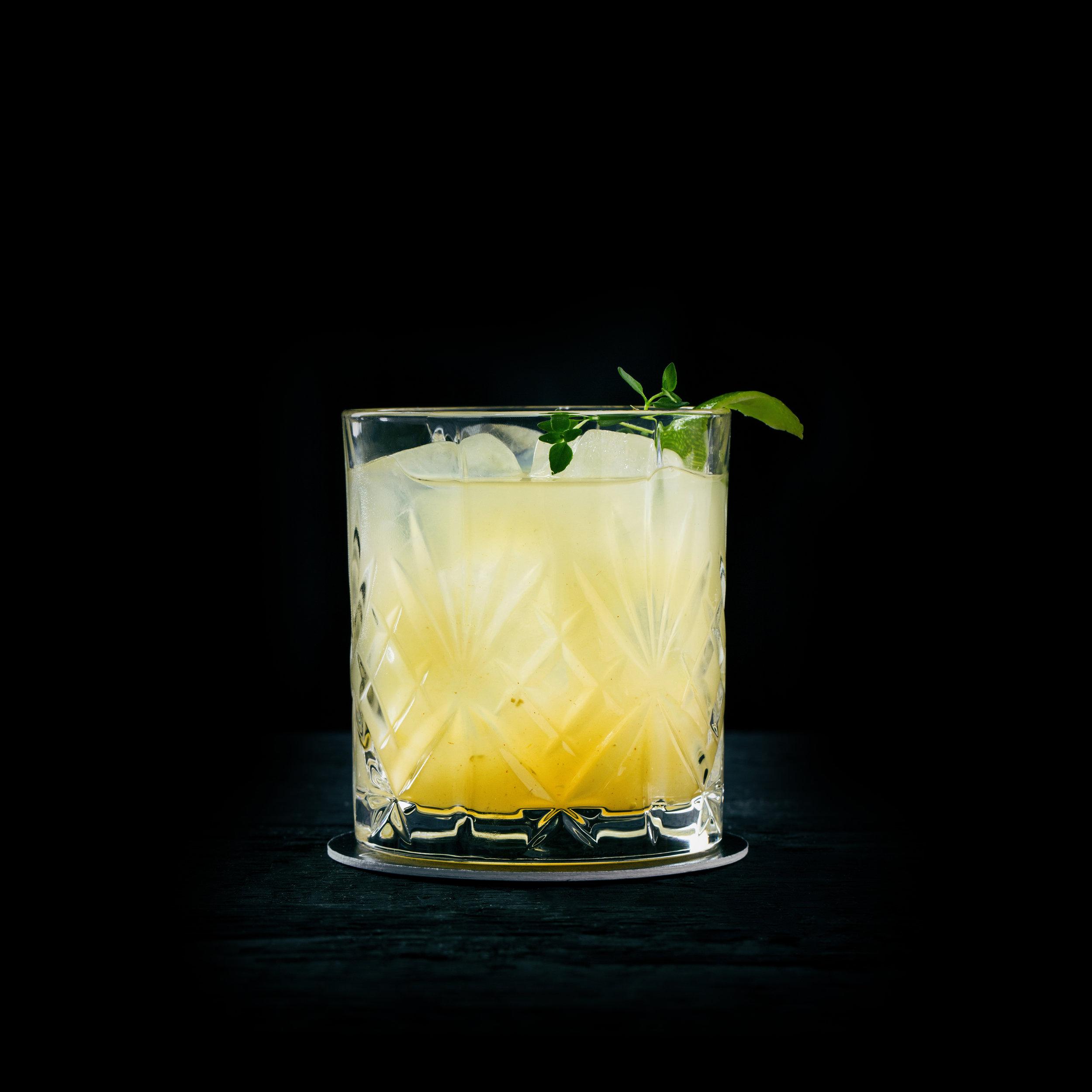 NOW OR NEVER  INGREDIENTS  - 1.5 oz. El Silencio Espadin - 1 oz. Fresh Lime Juice - 2 oz Orange Juice - Fresh Jalapeño - Fresh Cilantro  METHOD  Muddle Jalapeño and cilantro Shake with Ice & Strain Garnish: Cilantro Sprig