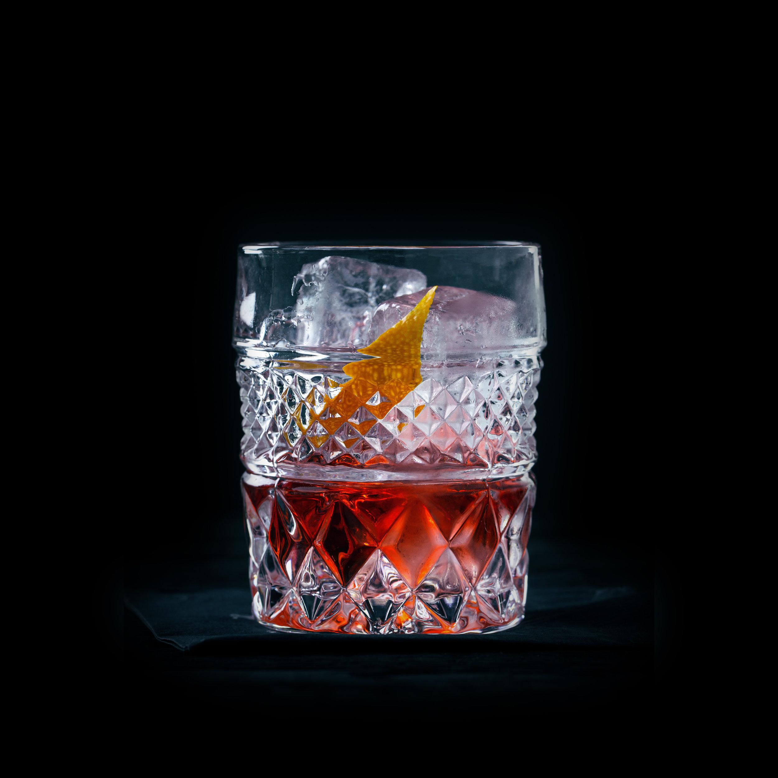 MEZCAL NEGRONI  INGREDIENTS  - 1 oz. El Silencio Espadin - 1 oz. Carpano Antica Formula Vermouth - 1 oz. Campari  METHOD  Stir with ice & Strain Rocks Glass - Orange Peel