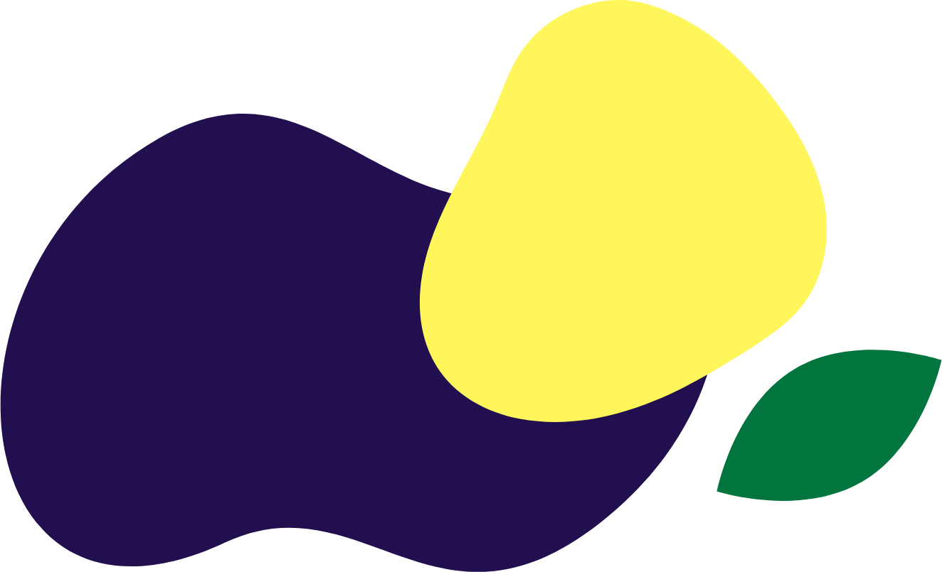 purple yellow blobs green leaf.png