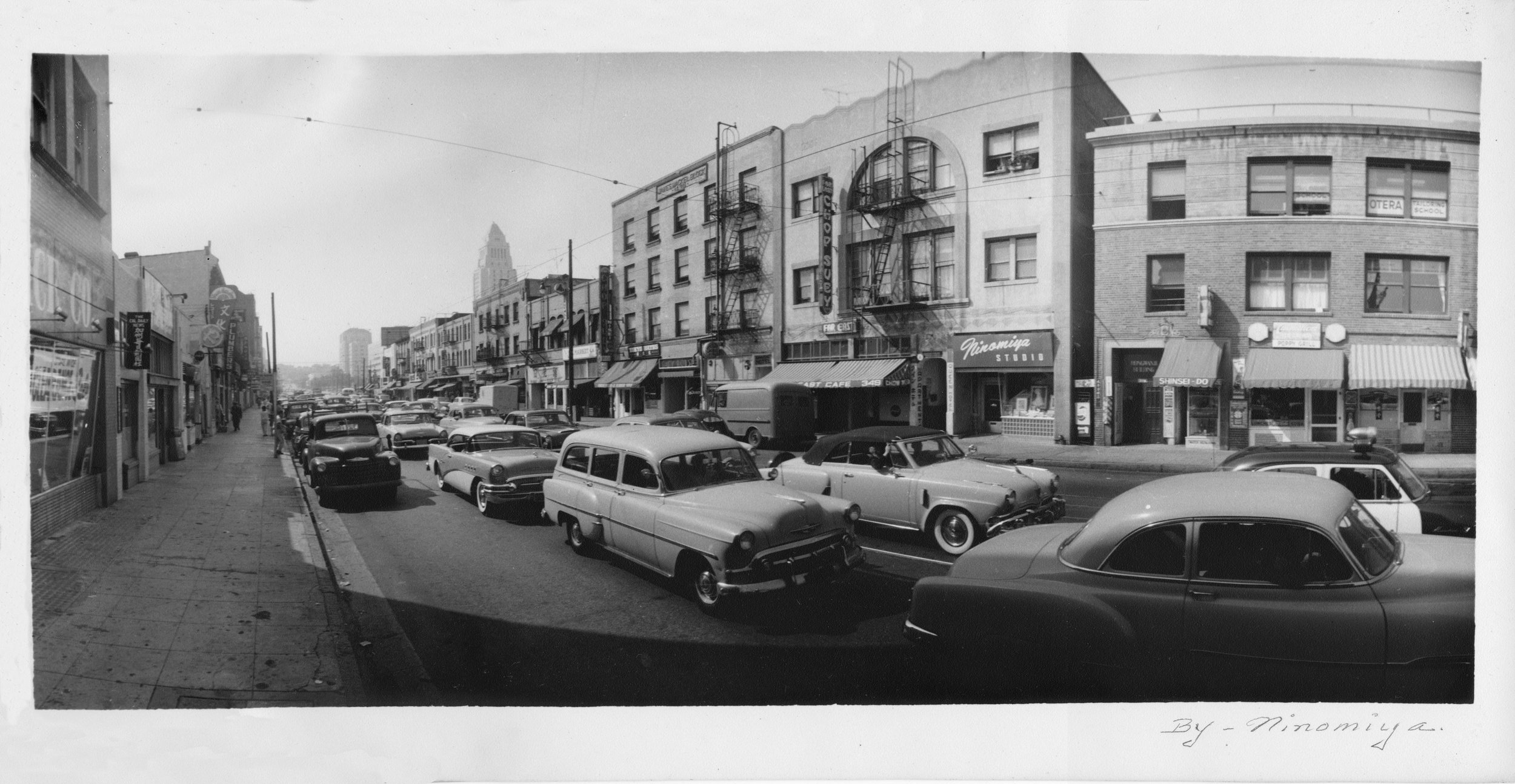 First Street North (1950s) , Courtesy of Kendra Nitta - Kinso B. Ninomiya, Ninomiya Studio, Los Angeles