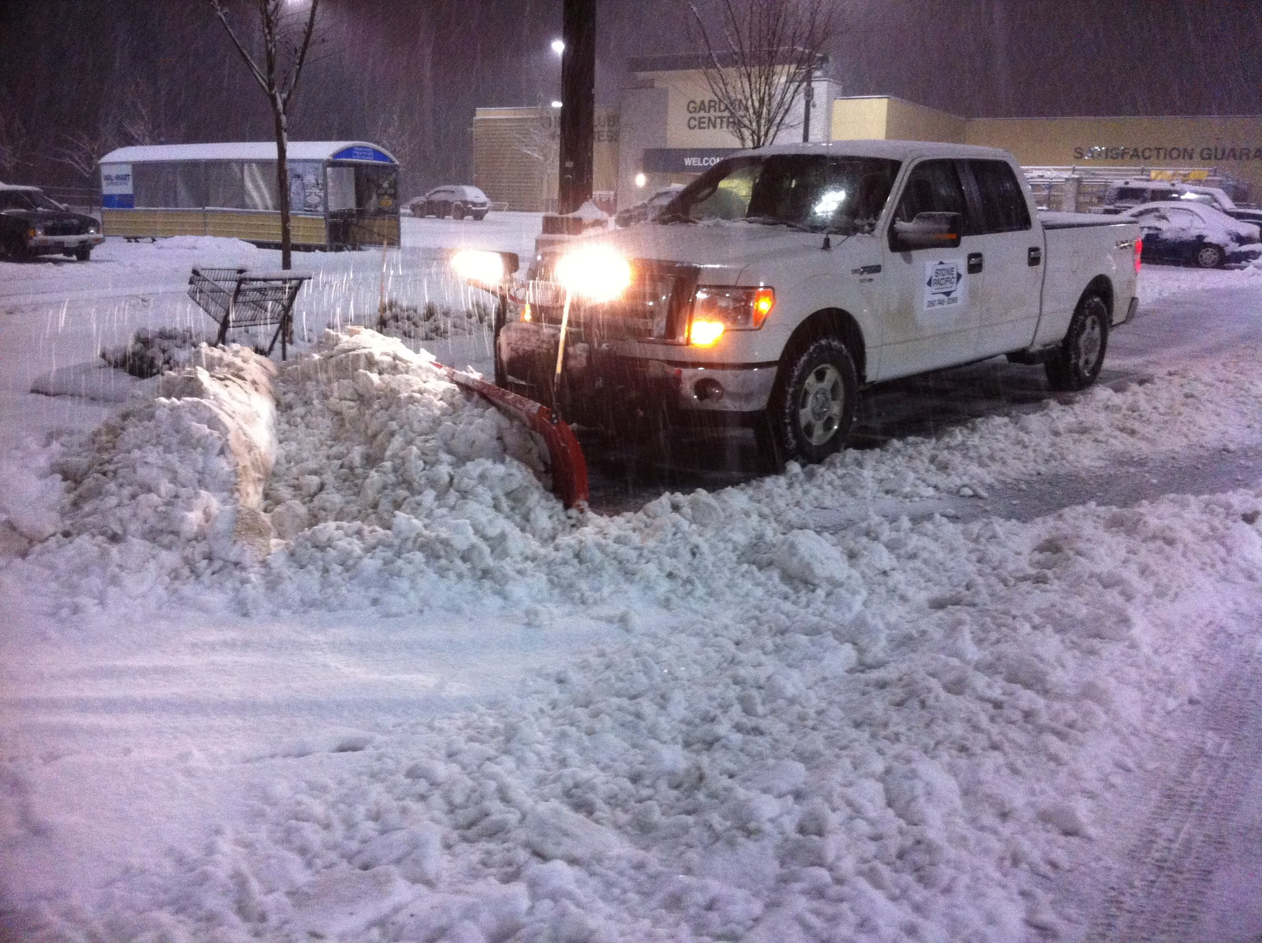 Snow Clearing & Salting