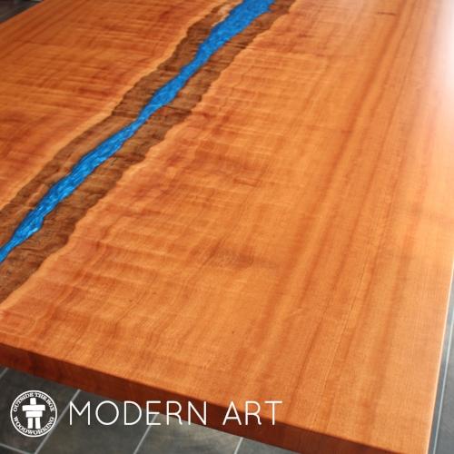 Slab-river-table