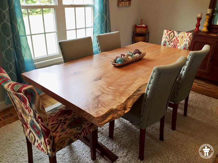 Custom table dining room