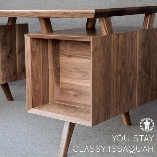 Custom desk Issaquah