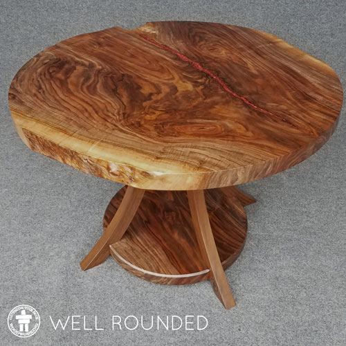 Custom round table Seattle