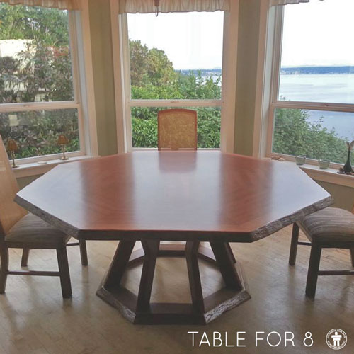 Gig Harbor dining table