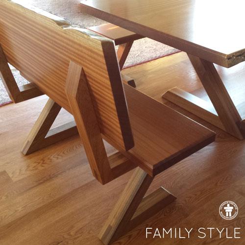 Tacoma live edge table