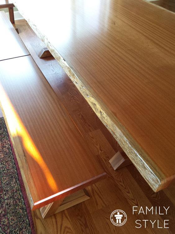 Custom table Tacoma