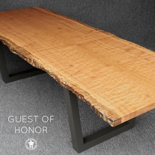 Modern Seattle custom table