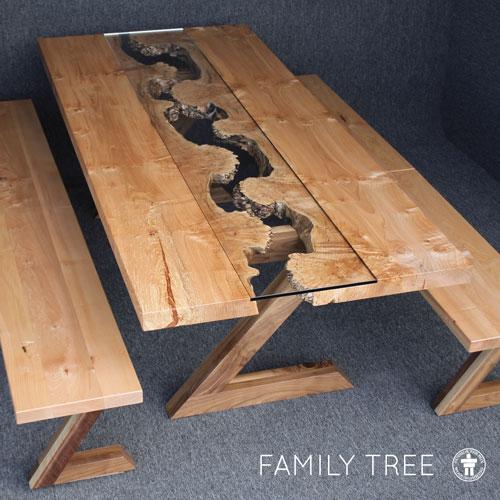 Bellevue live edge table