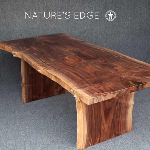 Live edge slab Walnut dining table Washington State