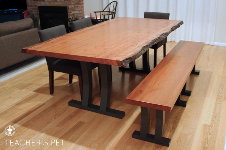 Slab dining table Tacoma, Washington