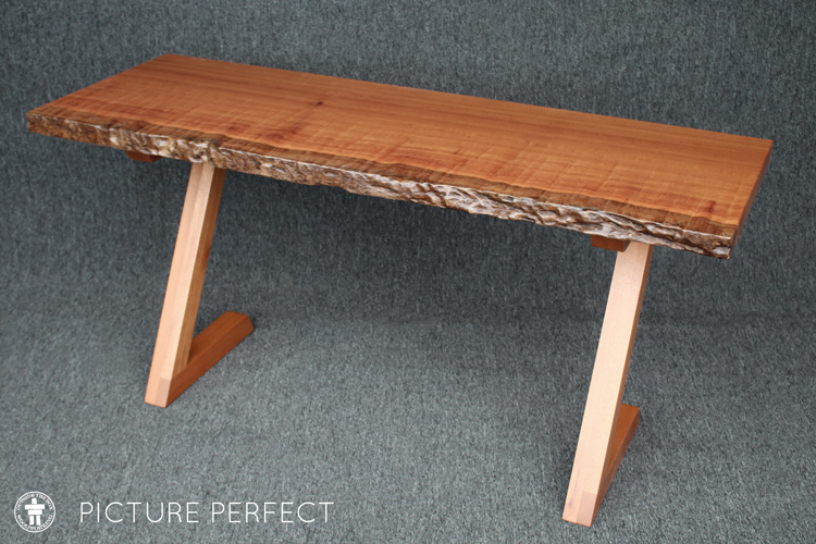 Live edge side table Picture Perfect