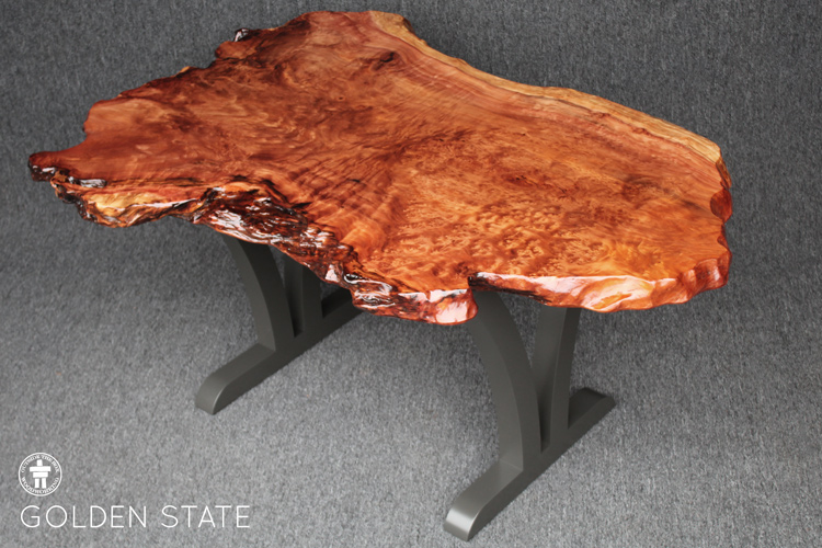 Organic live edge table