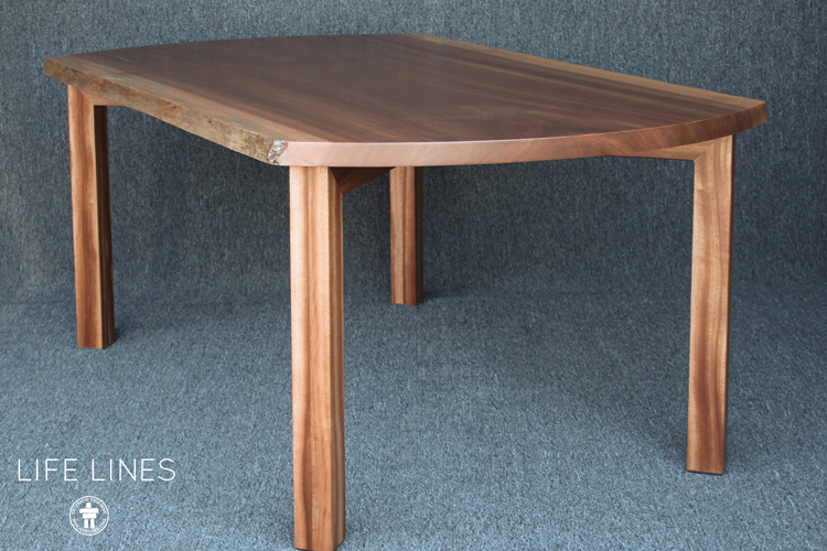 Custom wood table Washington