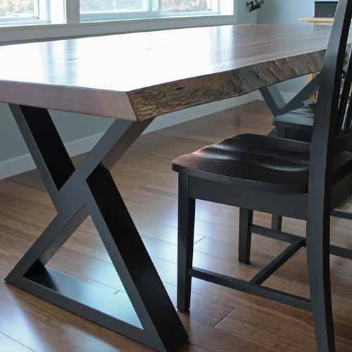 Modern live edge table Tacoma