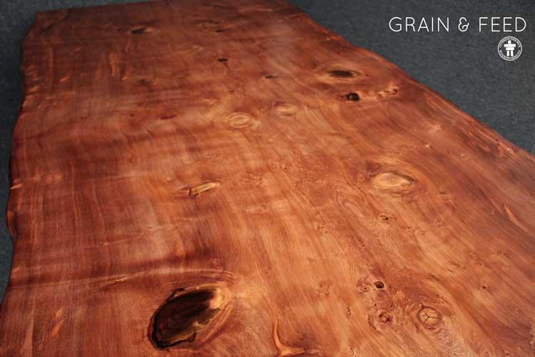 Custom solid wood dining table