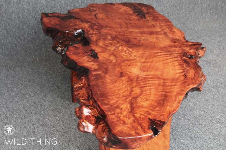 Raw edge coffee table