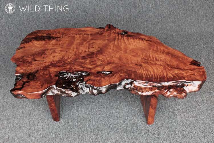 Live edge organic coffee table Washington
