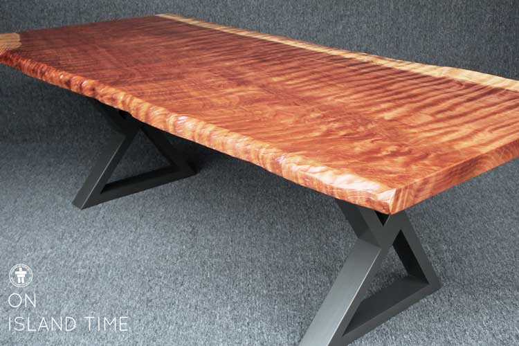Natural edge dining table Seattle