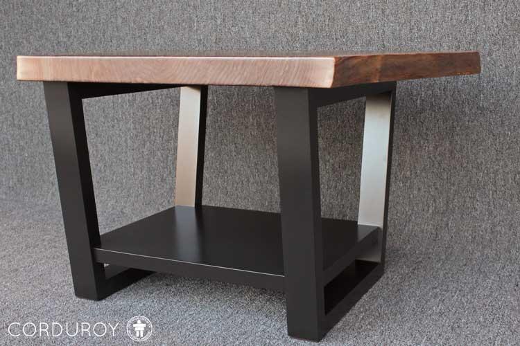 Custom live edge table Washington
