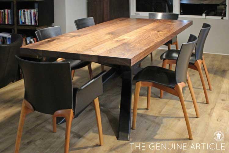 Custom dining table Mercer Island Seattle