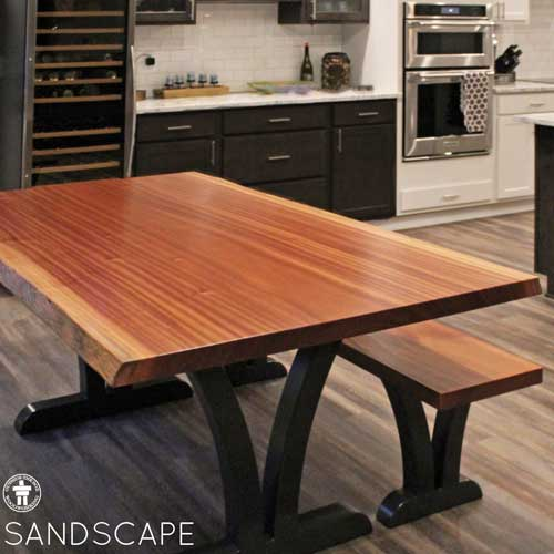 New construction home dining table