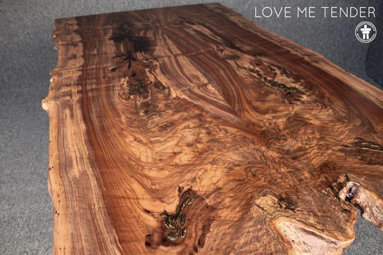 Custom slab table