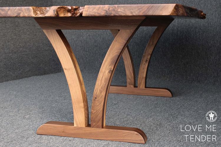 Seabeck Washington custom dining table