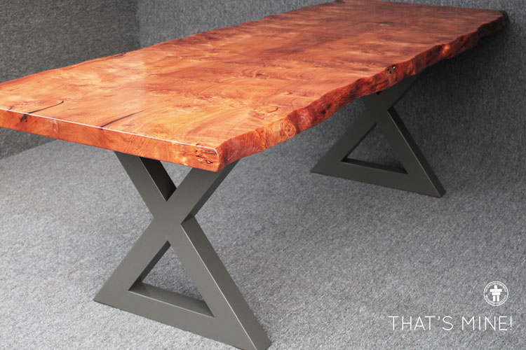 Custom contemporary dining table