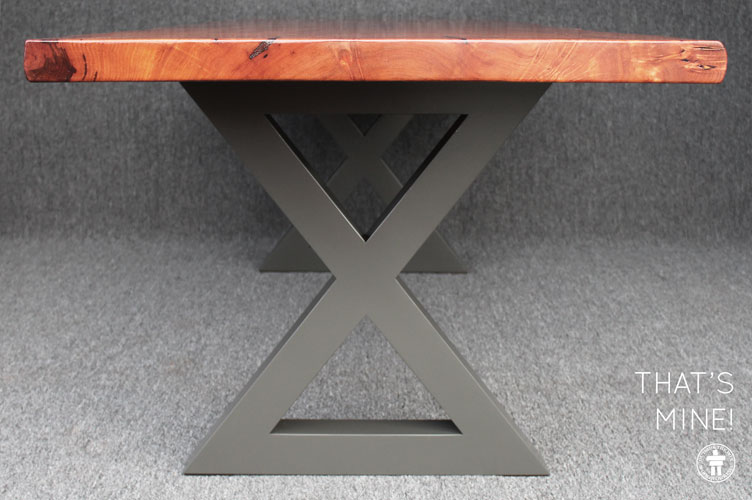 Custom table modern legs