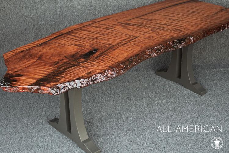 Custom wood table Seattle