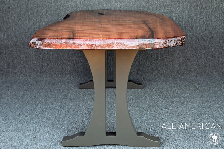 Traditional rustic dining table