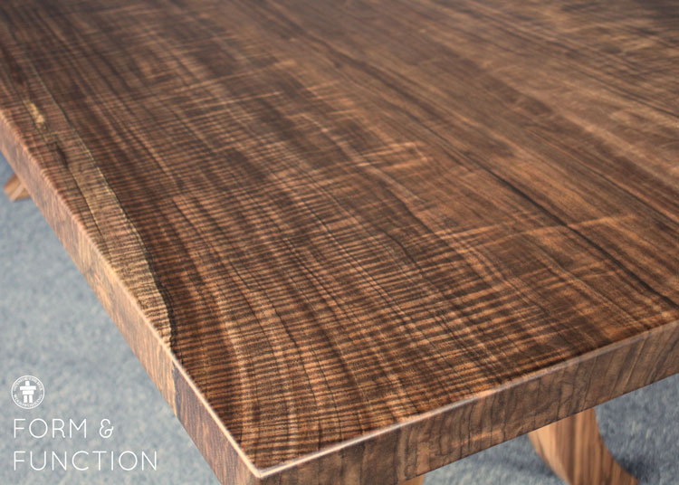 Handcrafted Walnut table