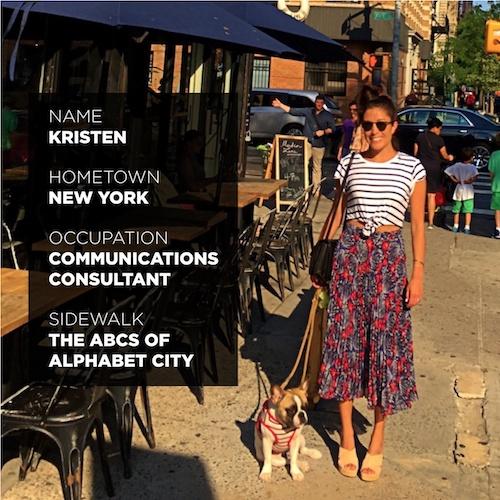 Kristen_Sidewalk Blog