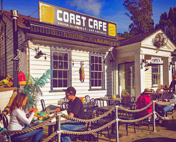 Coast Cafe_Sidewalk_Bolinas