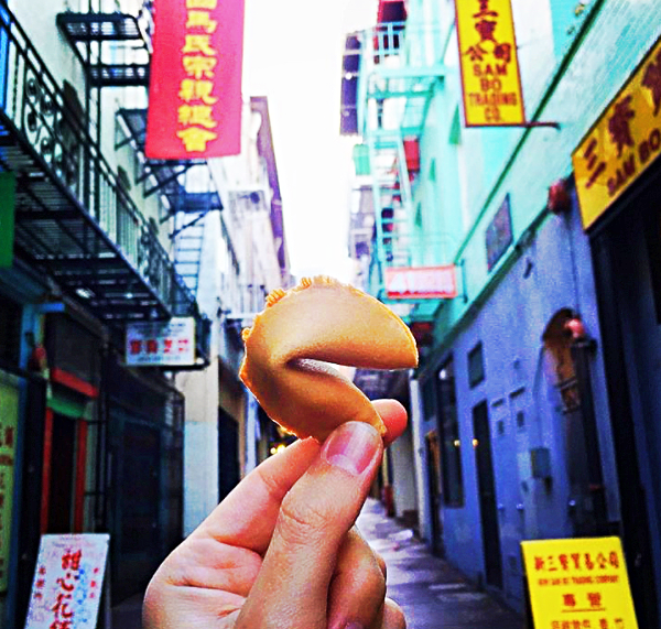 Opium, Hidden Temples, Dragons & Fortune Cookies_Sidewalk San Francisco