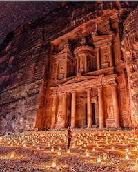 Petra, Jordan_Sidewalk