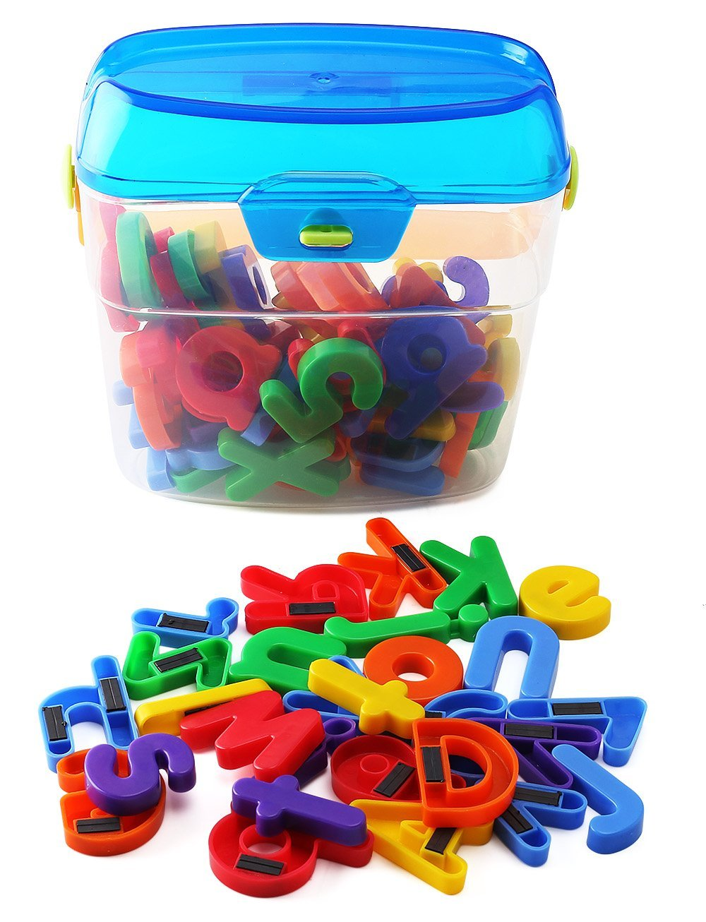 LETTERS & NUMBERS FRIDGE MAGNETS -