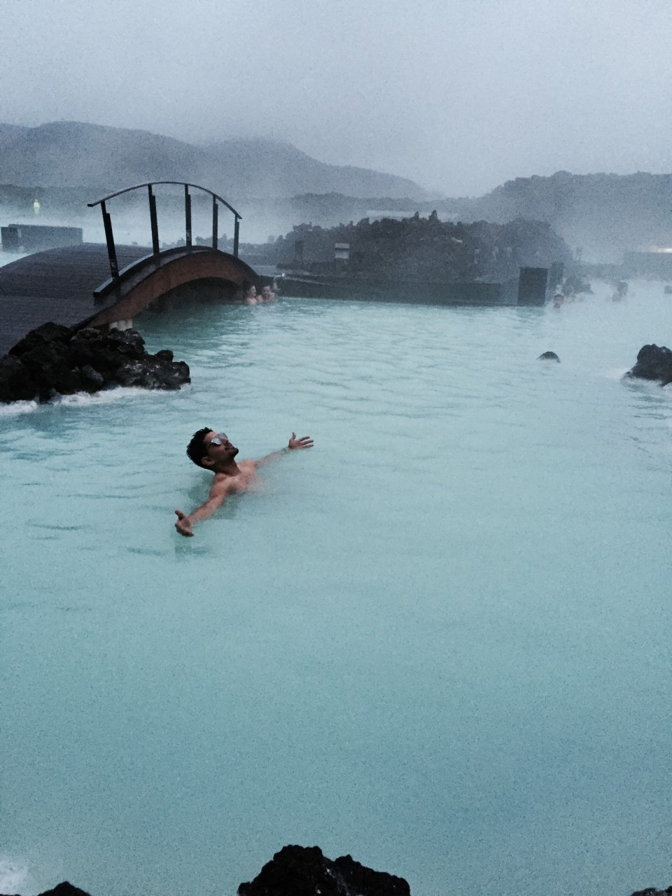 BLUE LAGOON - A geothermal spa.