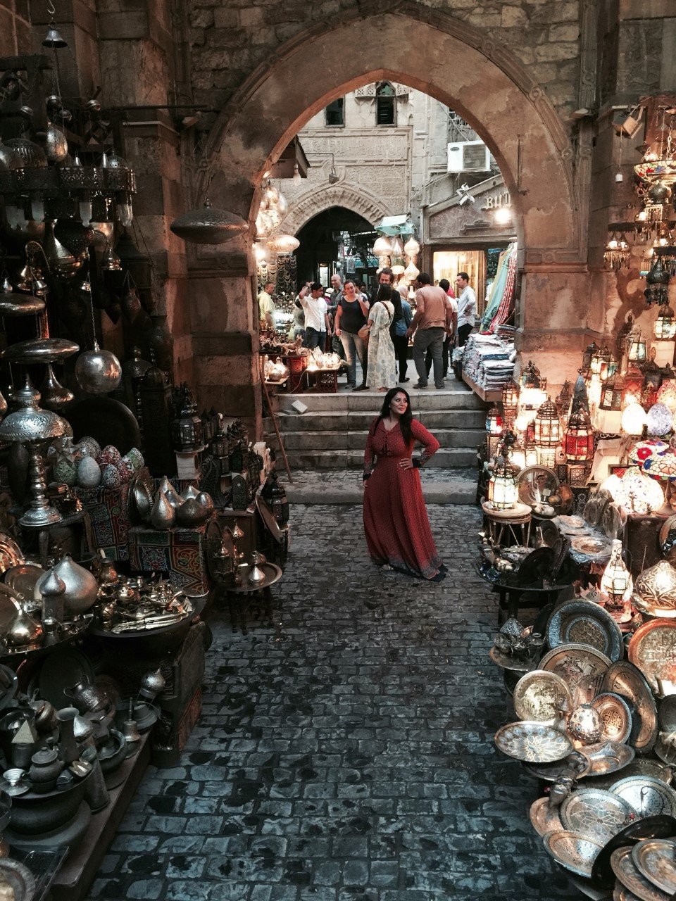 KHAN AL KHALILI BAZAAR - Aladdin vibes at this intricate and beautiful souk in the Islamic district of Cairo.