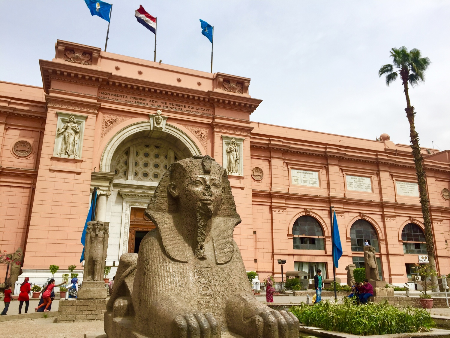 EGPYTIAN MUSUEM - Home to an extensive collection of ancient Egyptian antiquities.