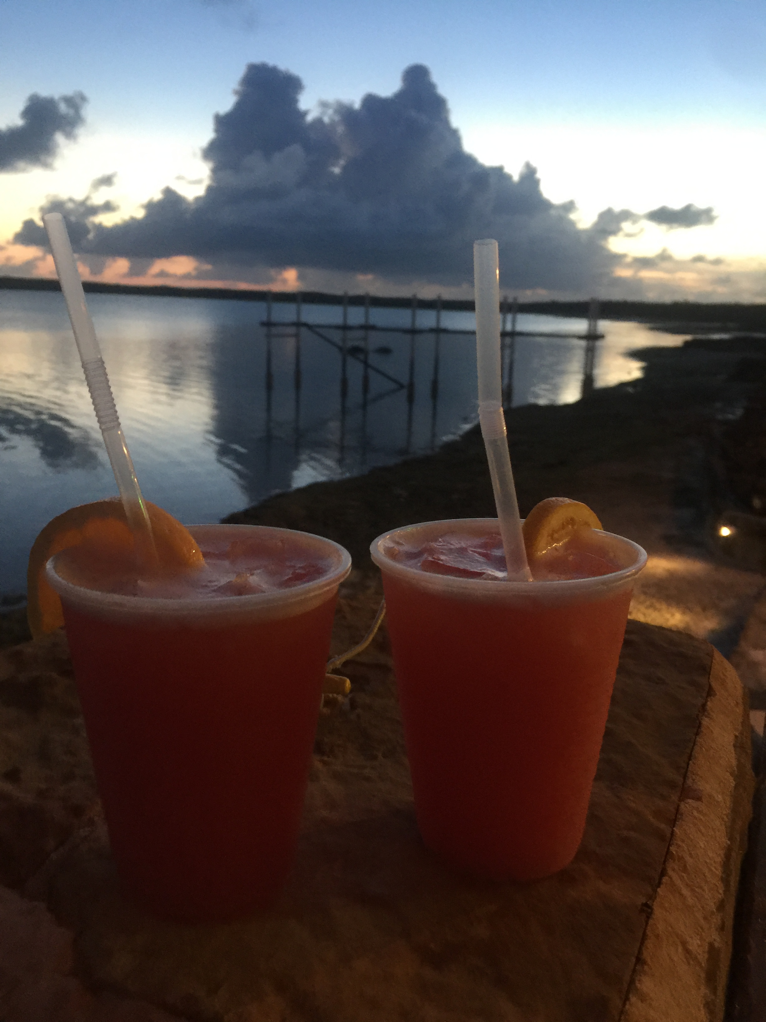 CATCH A FIRE - Hands down the best sunset views of the Island, sip on cockatails or grab a bit to eat for dinner.