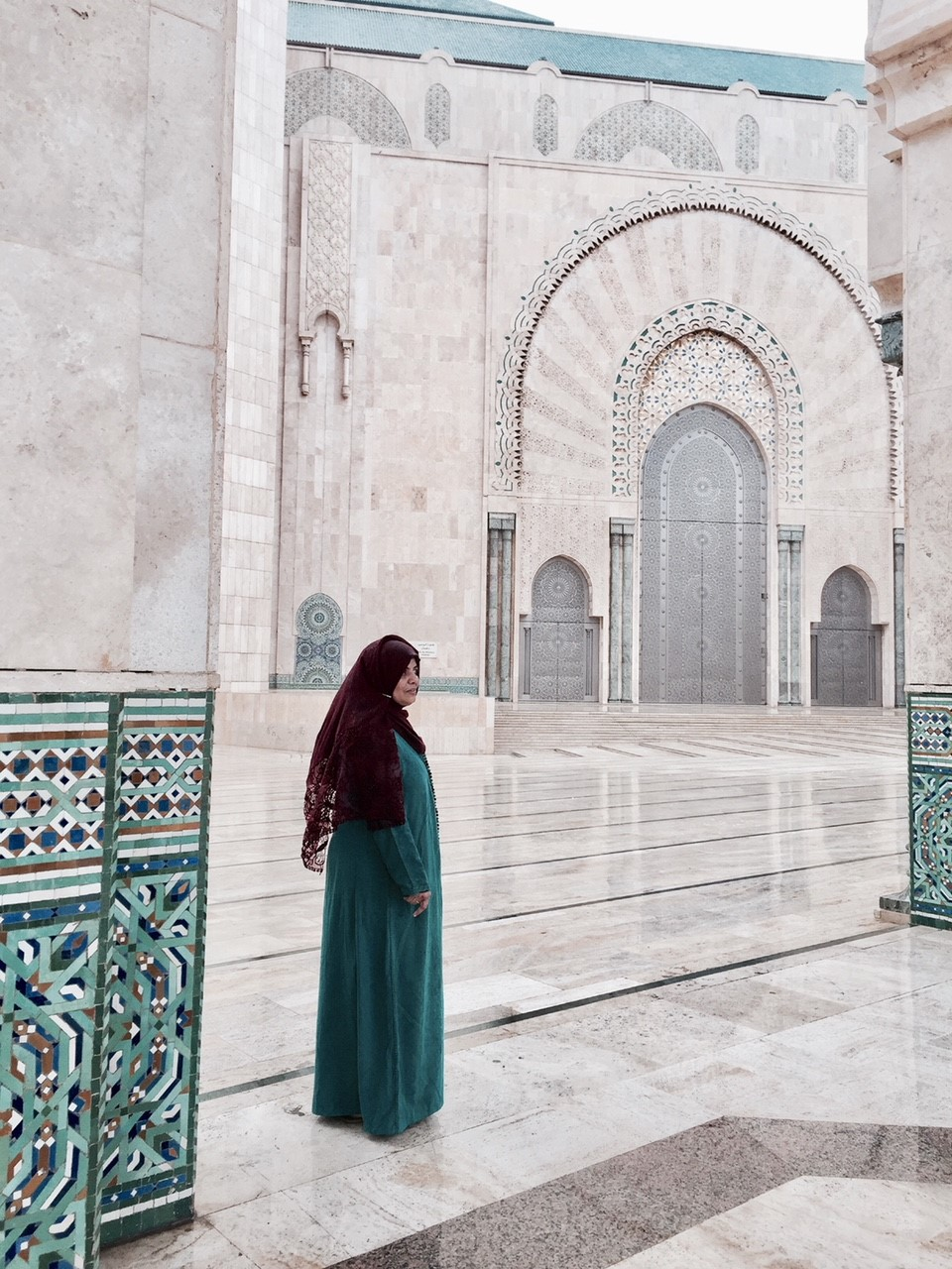HASSAN II MOSQUE-CASABLANCA  - Truly a masterpiece! The Hassan II Mosque is the largest mosque in Morocco and the 13th largest in the world. You will be in awe as soon as you step into the grounds!