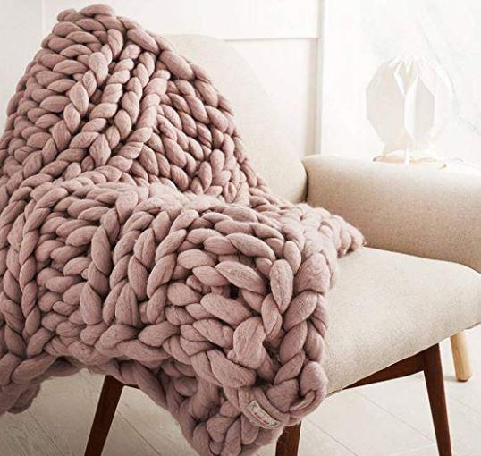 Available on Amazon -  https://www.amazon.co.uk/Bonways-Handmade-Chunky-Blanket-Hand-woven/dp/B01N32GR86