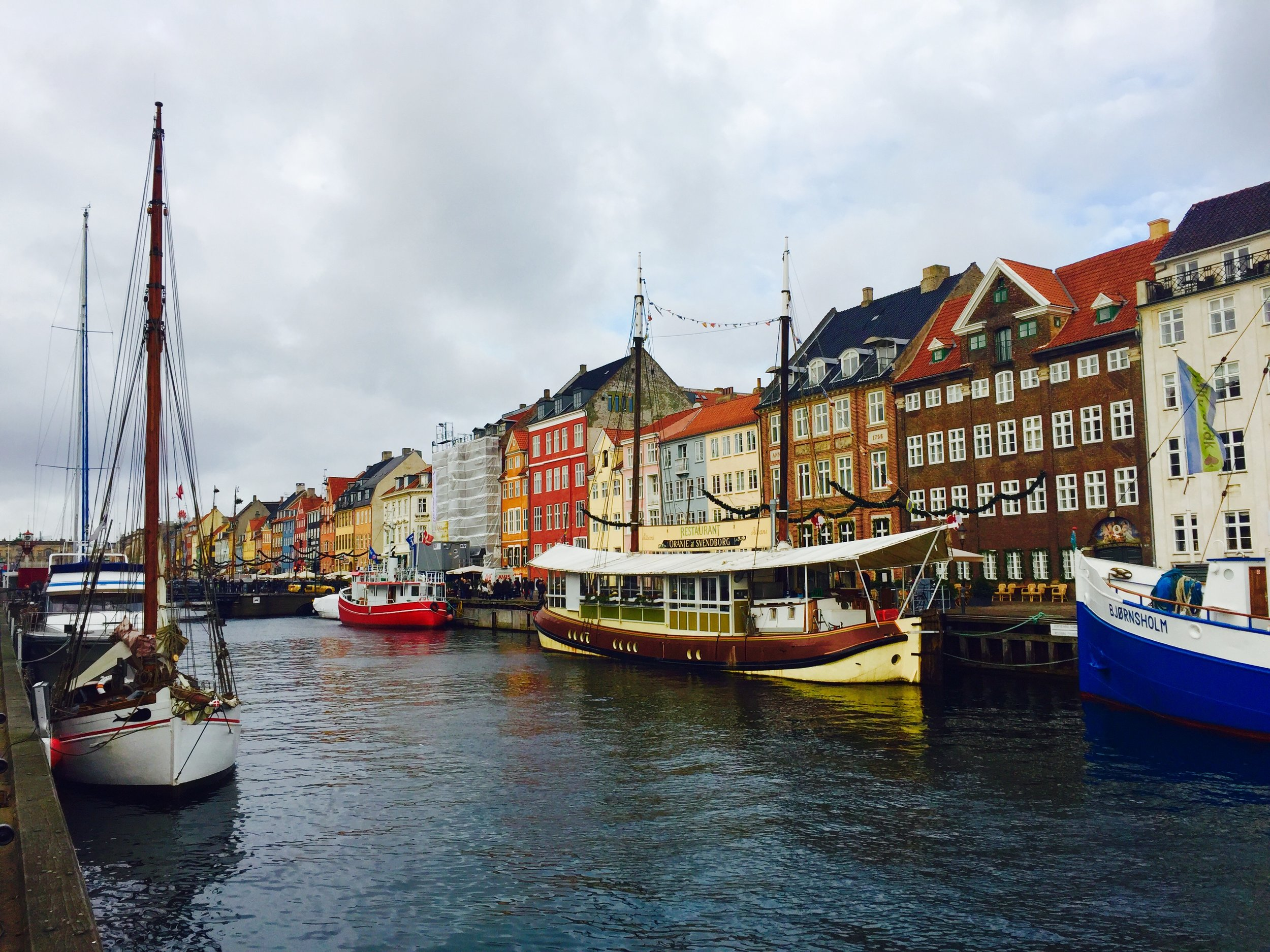 NYHAVN,a 17th-century waterfront canal